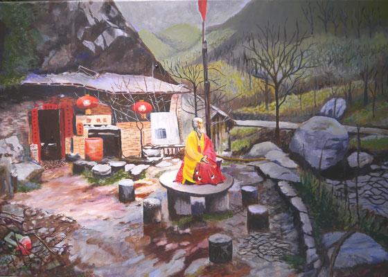Boeddhistische monnik, Carla Guyt