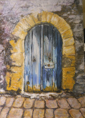 Oud poortje, Erica Kerp