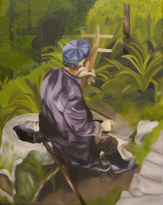 Vietnamees mannetje. Esmee v.d,Plas