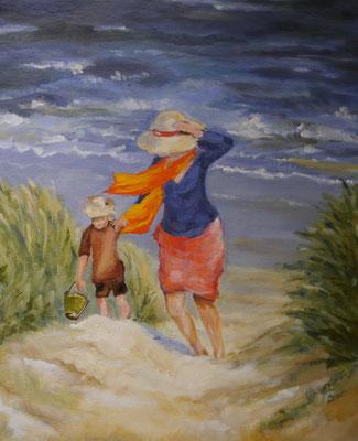 Wind aan zee, Janet de Vries