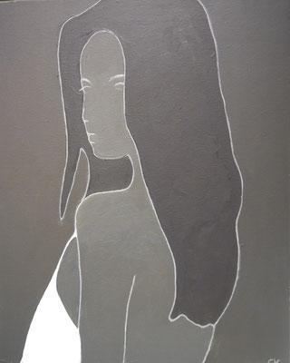 Portret in grijzen, Carla Klein