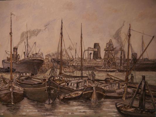 Rotterdamse haven voor de oorlog , Derk Eikenbroek