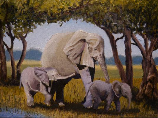 Olifanten , Maria Loggen