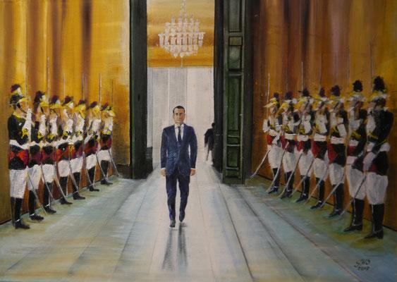 Macron, Gonnie Huysmans