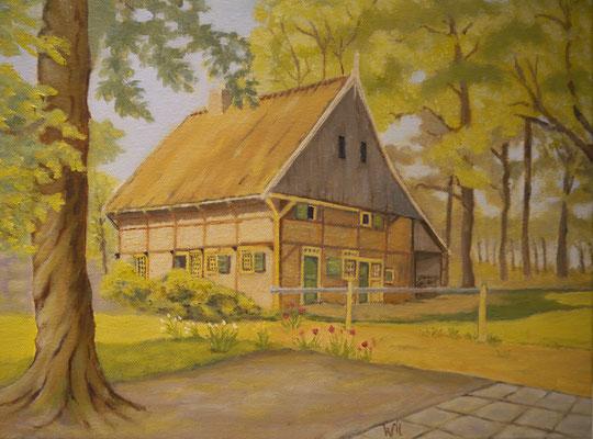 Drentsch huisje, Wil Kroon