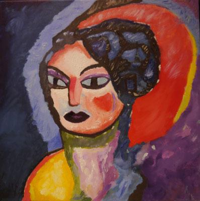 Portret , Ellen Kersenboom