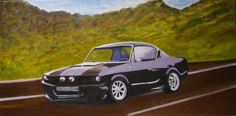 Ford Mustang, Riet Visser