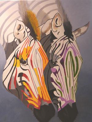 Zebra's, Regina van Vliet