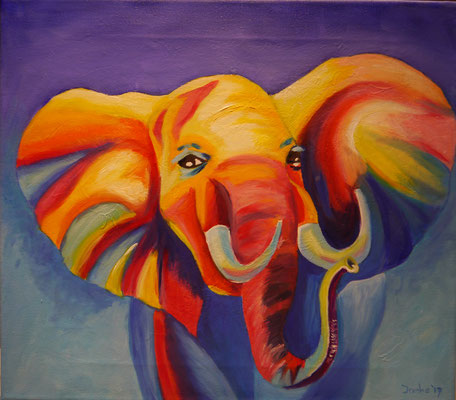 Vrolijke olifant, Ineke Schoenmaker