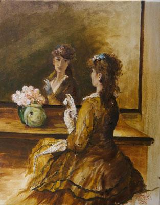 Spiegeltje, spiegeltje..., Gonnie Huijsmans
