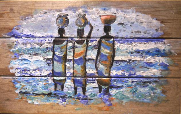 Afrikaanse vrouwen, Annet v.d. Hulst