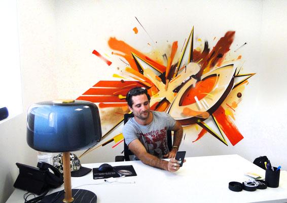 Peinture murale, Paris