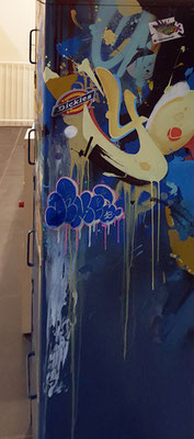 armoire/dickies/strictly/Flame/street art/ graffiti/ MTN