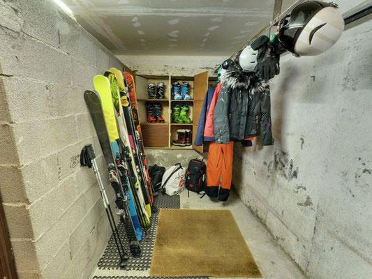 Box à skis
