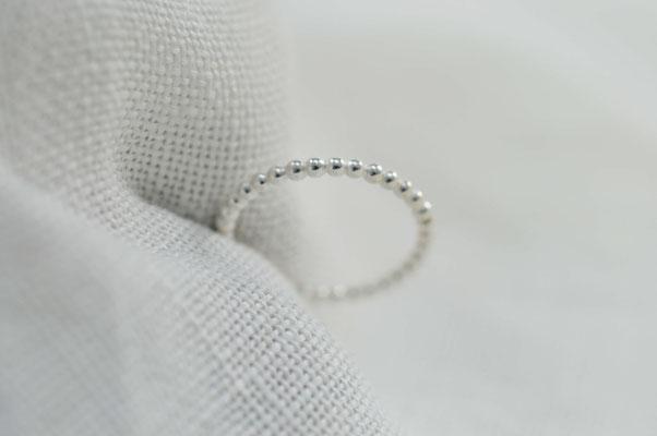 bagues empilables en argent / sterling silver stacking rings