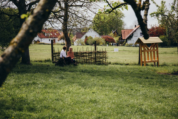 Blütenfest 2017: Gemütliches Verweilen im Hermannsgarten