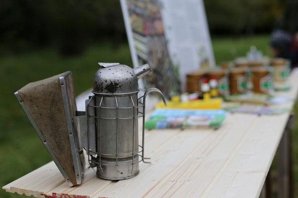 Honig-Stand beim Apfelfest 2017