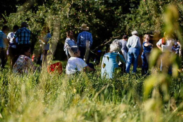 Sommerfest 2017: entspanntes Beisammensein