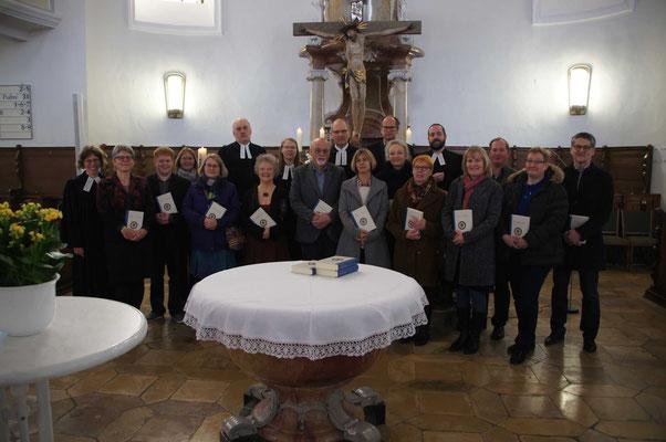 Der alte und der neue Kirchengemeinderat