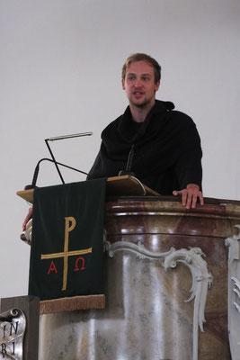 Marcus Krone als Martin Luther