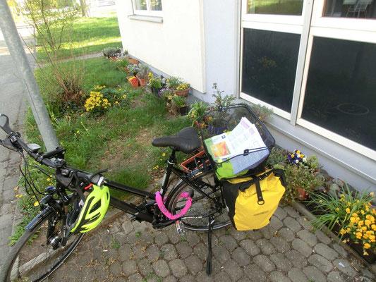 Andachten in schriftlicher Form per Fahrradbotin