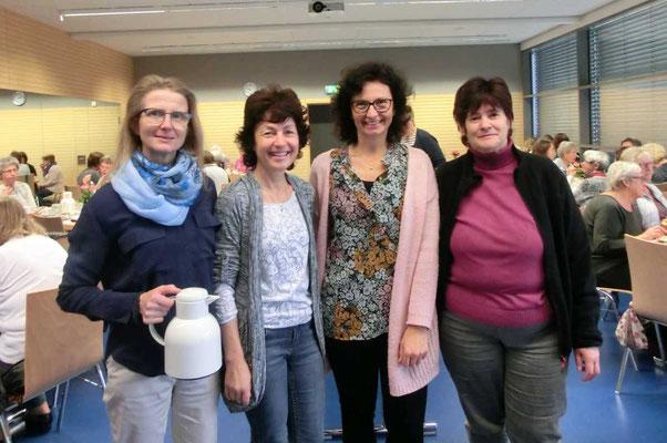 v.l.n.r.: Martina Huber-Holderer, Andrea Wallner, Elke Hiesinger, Rosemarie Szabo