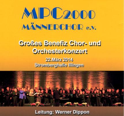 Großes Benefiz- Chor- und Orchesterkonzert  u.a. mit Walter Scholz