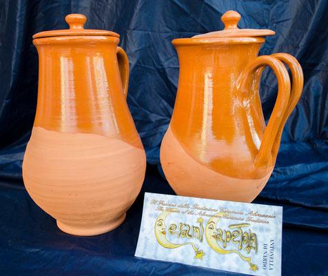 CERAMICA CAPETOLA Pignata  ceramica abruzzese