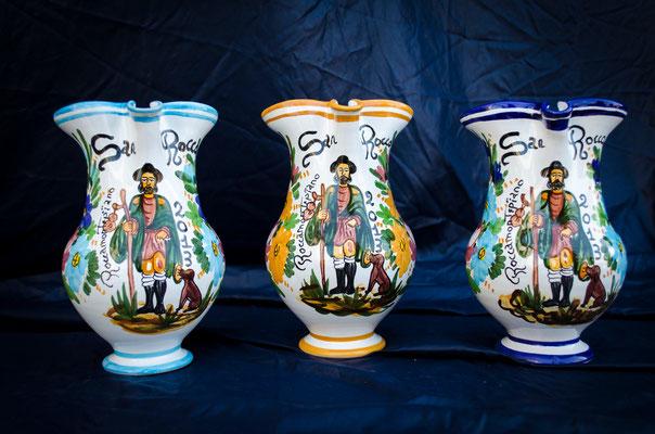 Brocca 1/2 litro San Rocco,Ceramicapetola