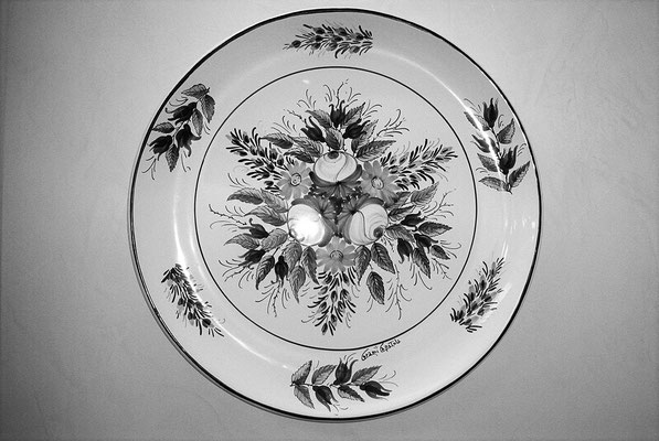 CERAMICA CAPETOLA  Piatto cm40 ceramica abruzzese