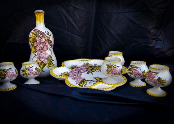 CERAMICA CAPETOLA Vino cotto ceramica abruzzese