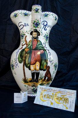 Brocca 10 litri San Rocco, Ceramicapetola