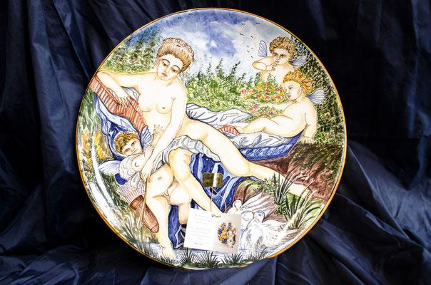 CERAMICA CAPETOLA Piatto cm40 CERAMICA CAPETOLA ceramica abruzzese