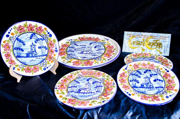 CERAMICA CAPETOLAServizio paesaggio antico ceramica abruzzese