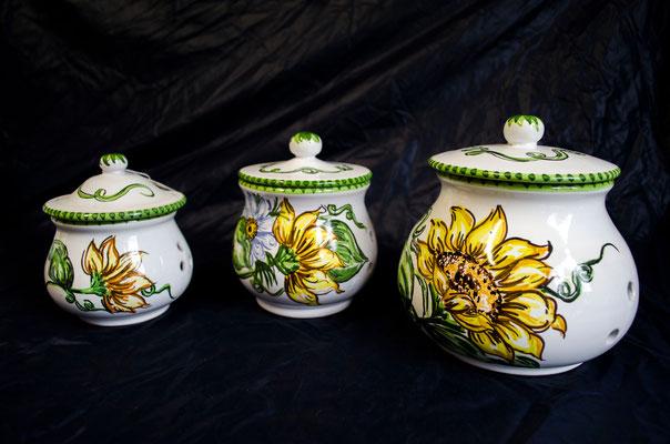 CERAMICA CAPETOLA Barattoli ceramica abruzzese