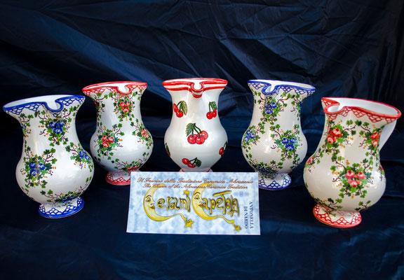 Brocca 1/2 Rosaspina ,Ceramicapetola