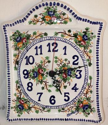 CERAMICA CAPETOLA orologio casetta  ceramica abruzzese