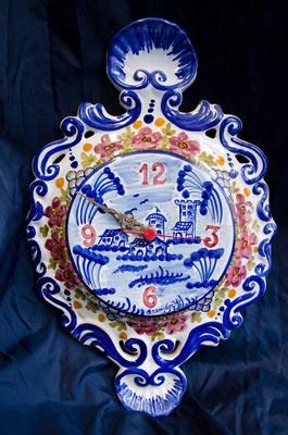 CERAMICA CAPETOLA Paesaggio antico ceramica abruzzese