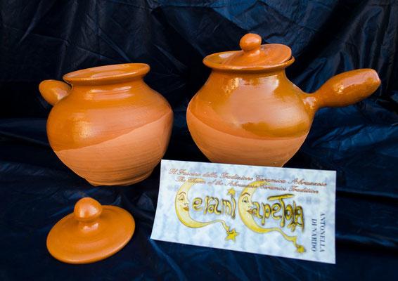 CERAMICA CAPETOLA Cuocipatate Ceramicapetola ceramica abruzzese