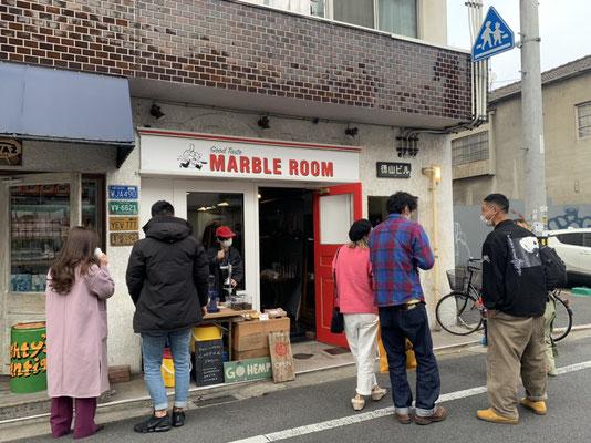 GOHEMP, KUUMUUS COFFEE ROASTERS, マルゴデリ, POP UP at MARBLE ROOM