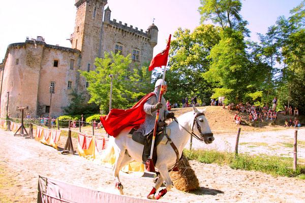 les chevaliers au chateau chalabre