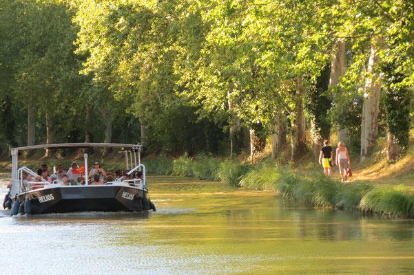 promenade en bateau sur le Canal du Midi