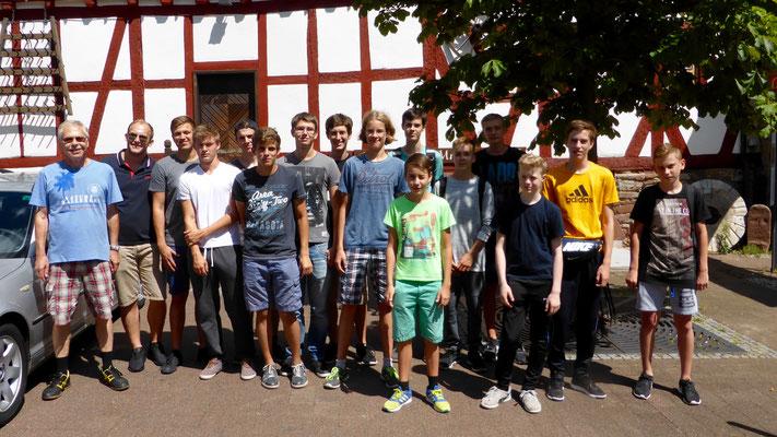 Vorfreude auf den Junior Worldcup: Abfahrt zum Flughafen