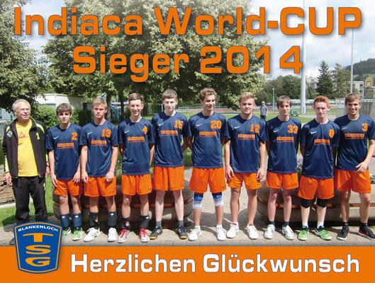 August 2014: Ein Traum wurde wahr - wir sind Weltmeister!