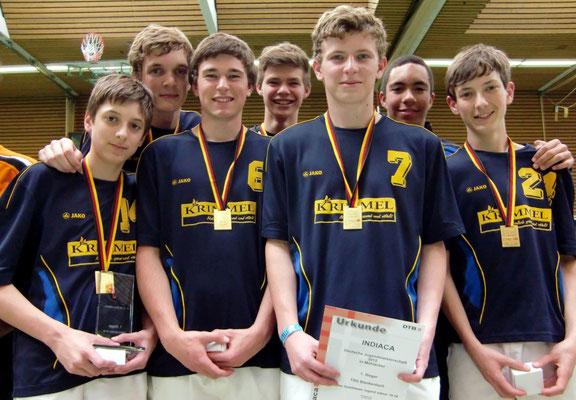 Junioren erstmals Deutscher Meister