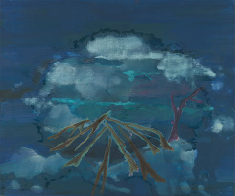 Fundstelle, 2008, Öl auf Leinwand, 50 x 60 cm
