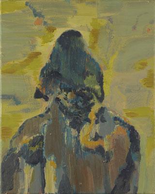 Urahn, 2019, Öl auf Leinwand, 60 x 50 cm