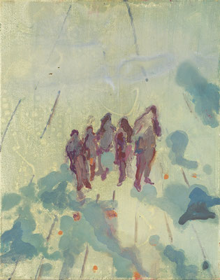Transit-3, 2005, Öl auf Leinwand, 50 x 40 cm