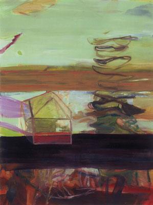 Das Haus-4, 2003, Öl auf Leinwand, 165 x 125 cm