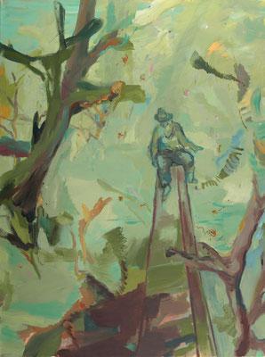 Jo Piccoco, 2005, Öl auf Leinwand, 165 x 125 cm